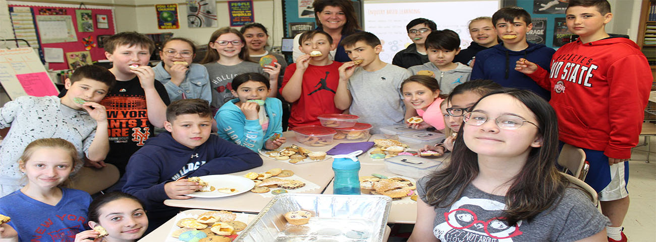 Mrs. Caterino & Mrs. Garson's Westlake Foundations classes are celebrating their inquiry-based project with a cookie bake-off!