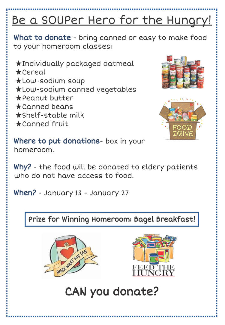 Donate Can Goods.