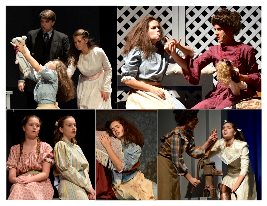 Pictures from The Miracle worker play.