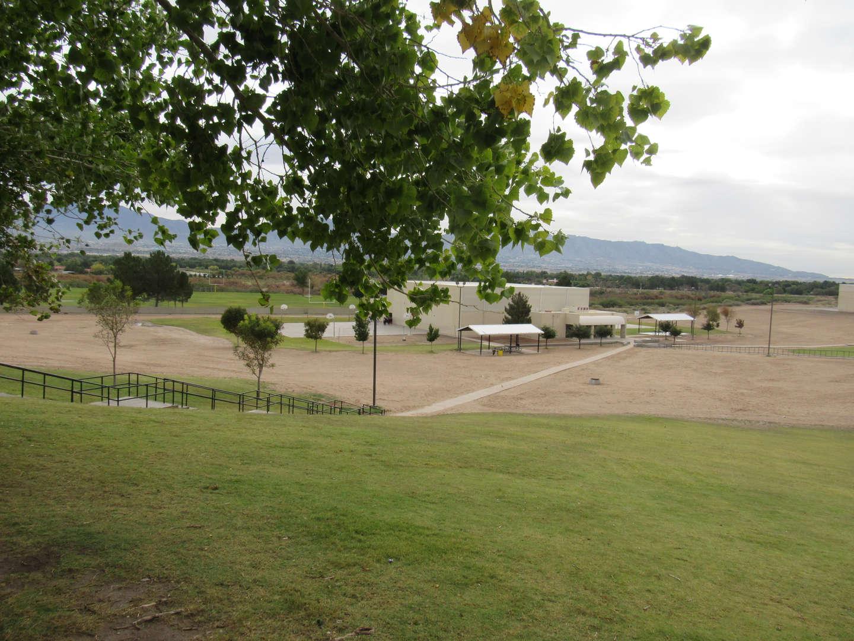 Santa Teresa Middle school builidng & landscape