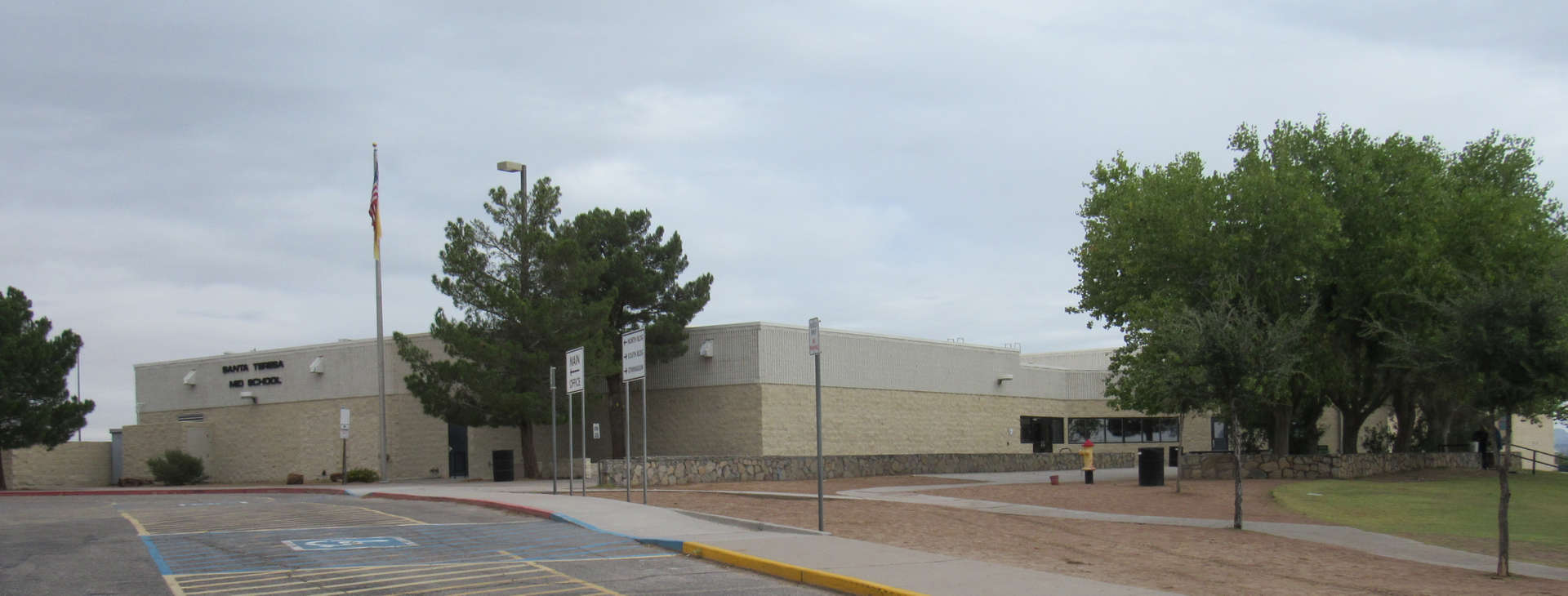 Santa Teresa Middle School building