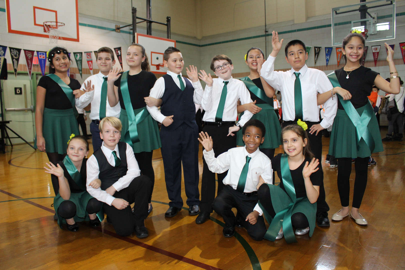 5th Grade Class of 2016 Ballroom Dancing Team