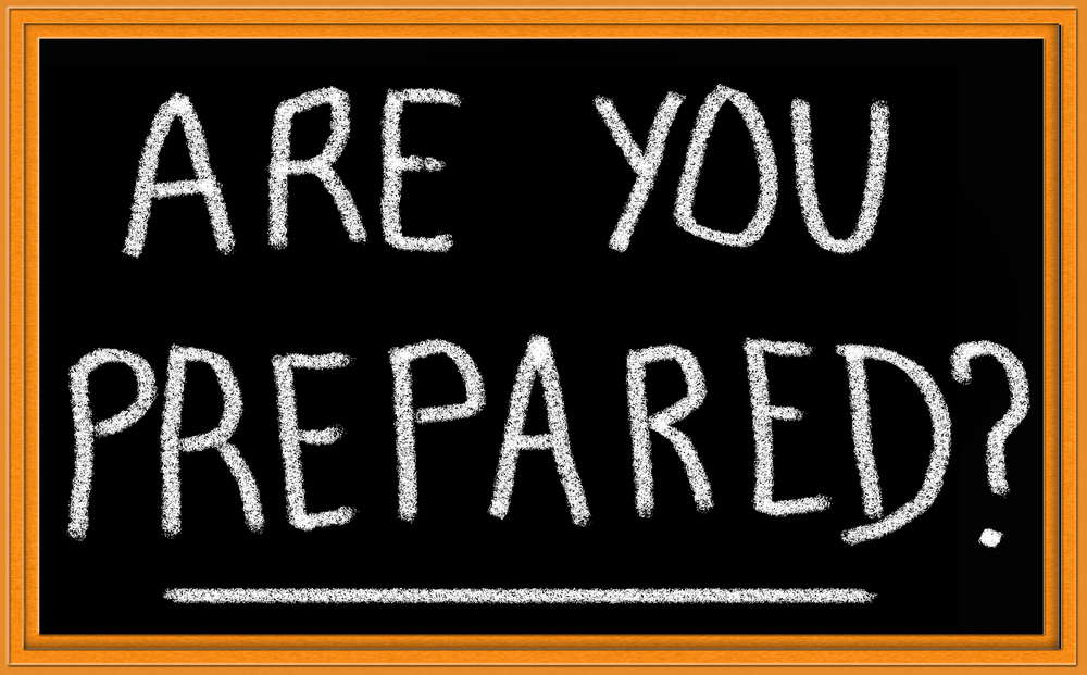Are you prepared clip art