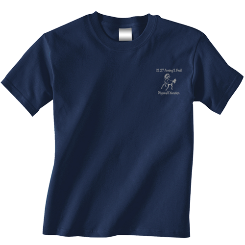 Navy Prall gym shirt
