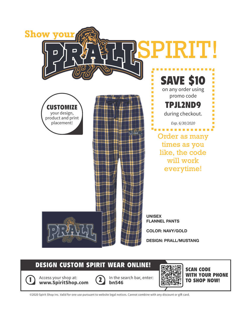 IS27 School Spirit PJ Flyer