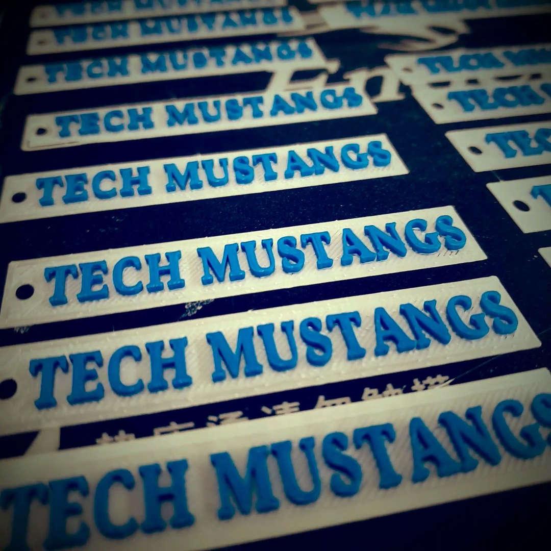 Tech Mustangs Logo