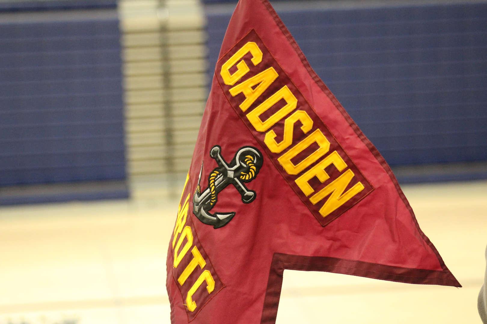Gadsden ROTC emblem