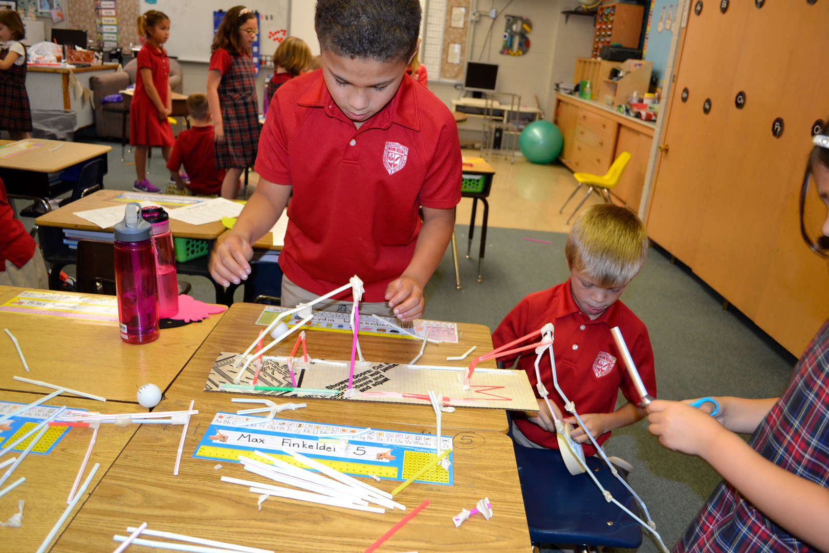1st Grade STEM - Construction