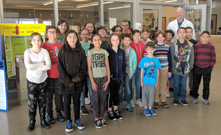 Students who participated in Science Fair