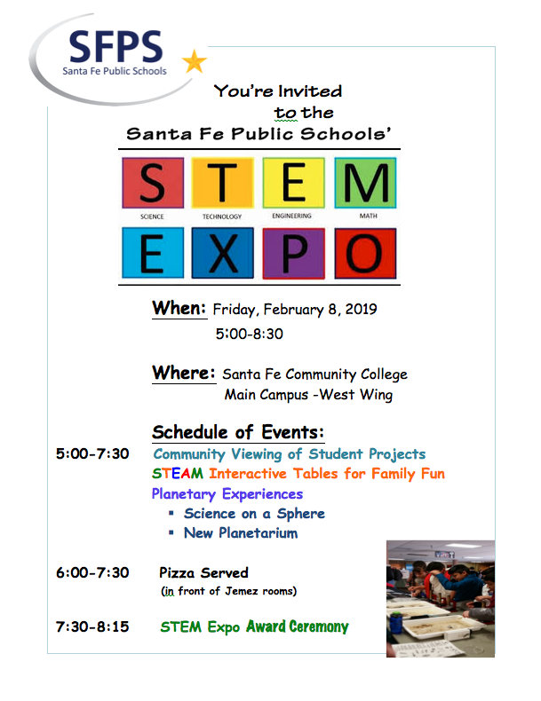 STEM EXPO Flyer