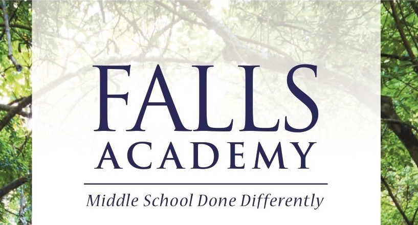 falls academy logo - middle school done differently