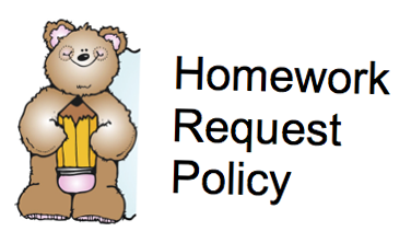 Link to Homework Request Policy
