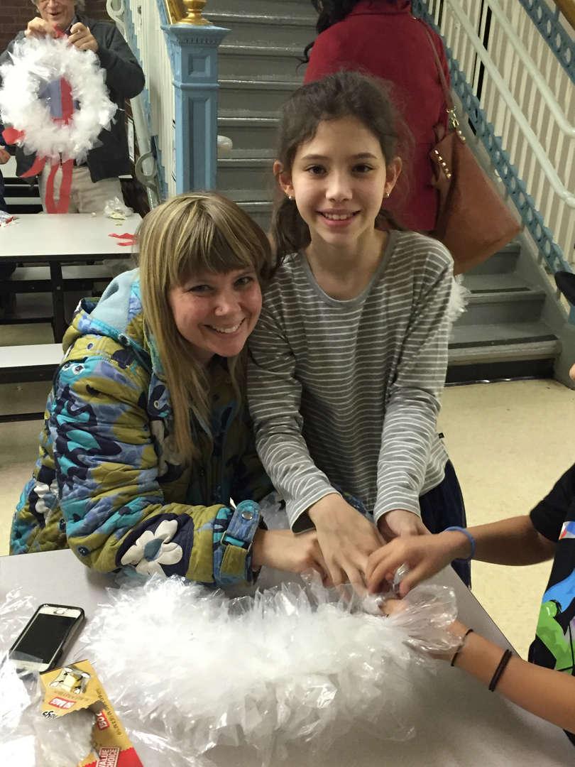 Parent Workshop  Wreath Making