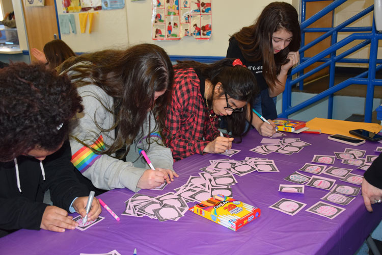 Lincoln Orens Unites for P.S. I Love You Day