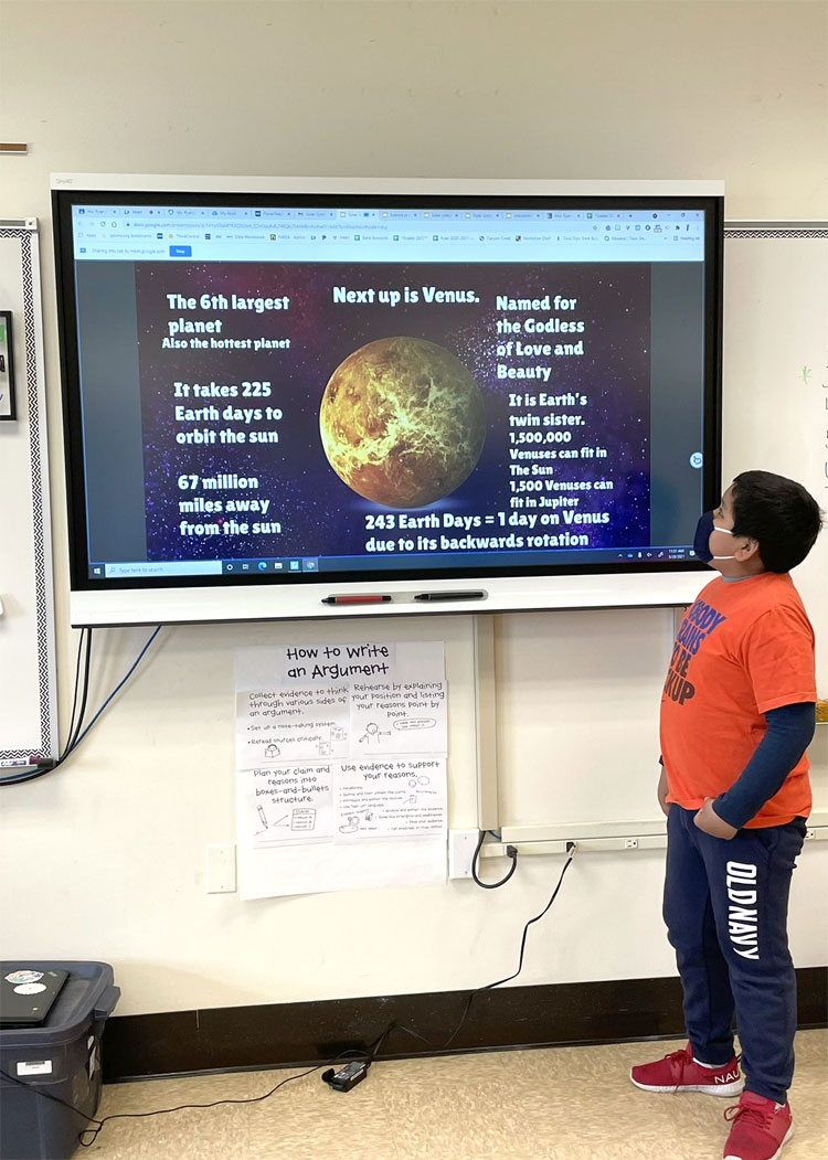 5th Grade Solar System Projects are out of this world!