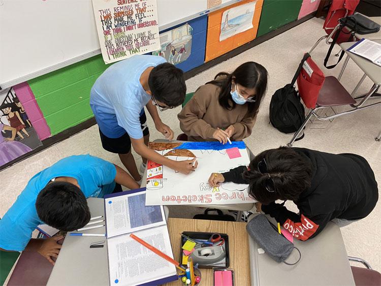 8th grade ELA— Alone we are smart. Together we are brilliant
