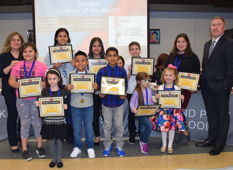 Board Meeting Brings Student Recognitions