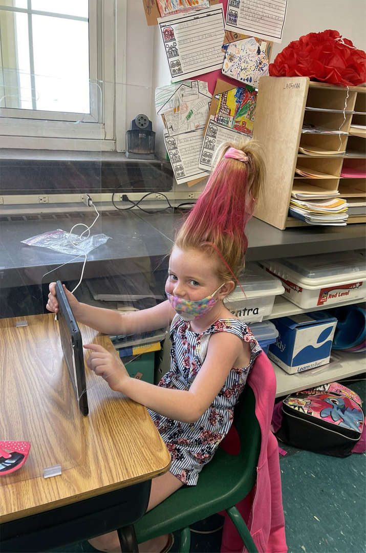 """It was """"crazy hair day"""" at FXH! We also concluded our circus week!"""