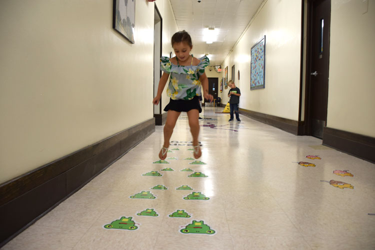 Hegarty Students Jump into Success