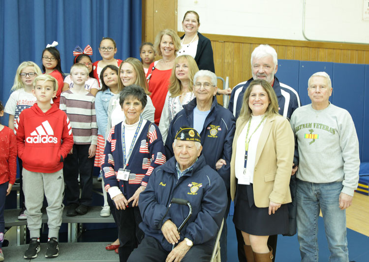 Hegarty Students Learn the Meaning of Veterans Day