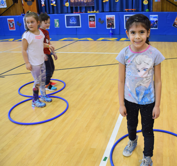 Island Park Families Support Phys. Ed.