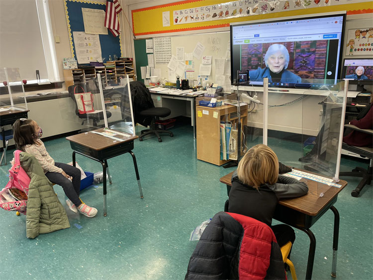FXH celebrated the beginning of PARP with a virtual visit from the author Heather Forest!