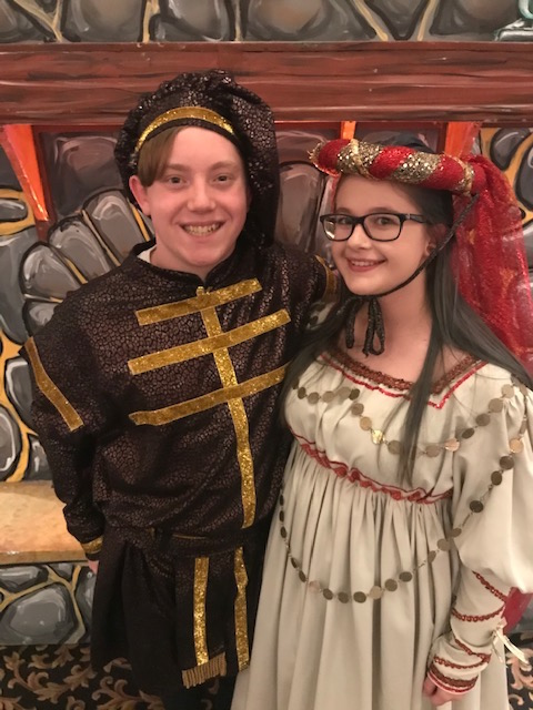 Madrigal Dinner  Brandon and Alexis  12/11/19