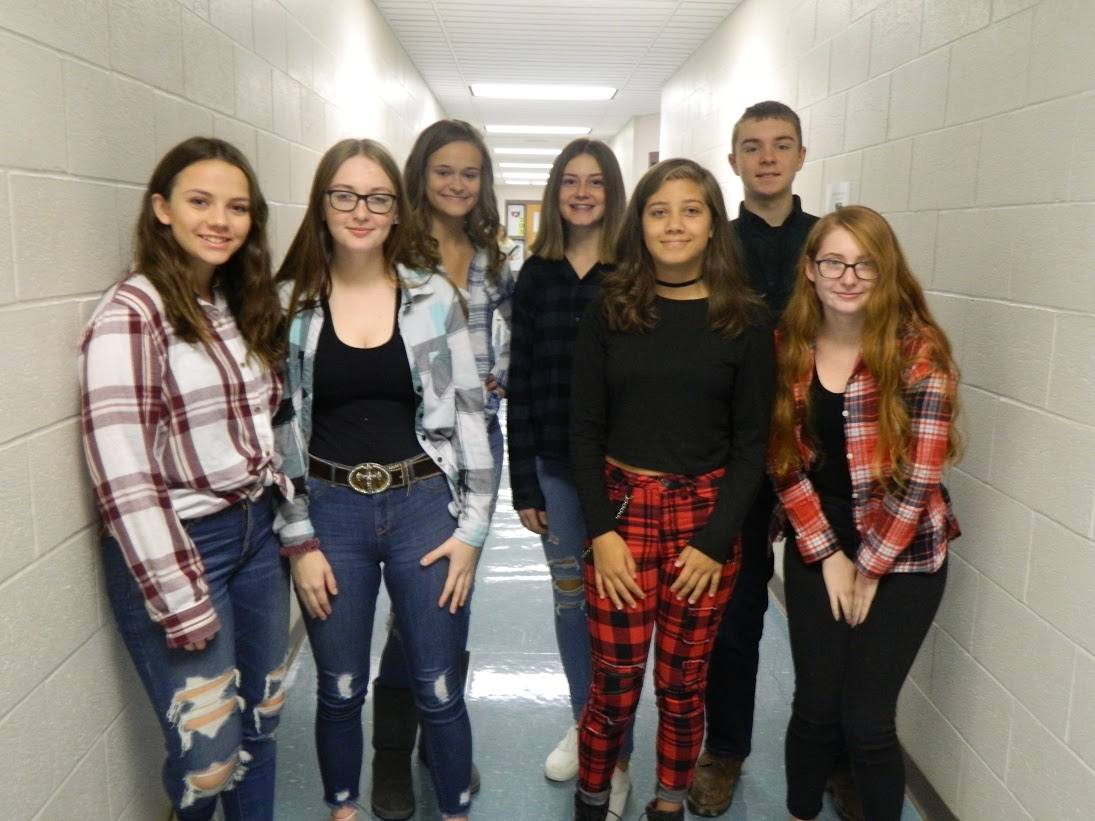 Red Ribbon Week  Flannel Day