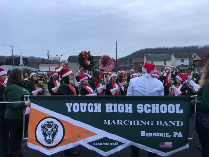West Newton Light Up Night  Marching Band   11/30/19
