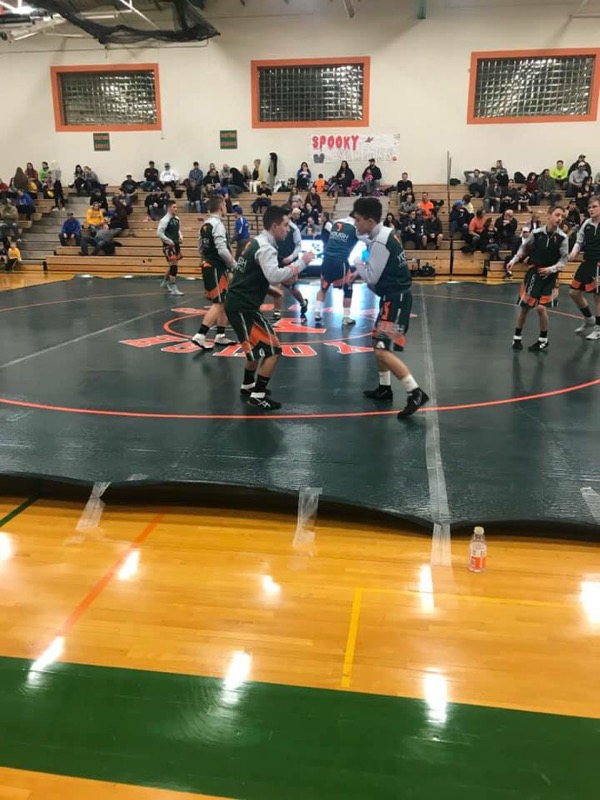 Wrestling vs. Derry 12/12/18
