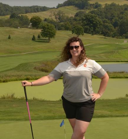 Golf Team - Hattie