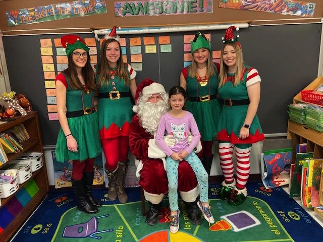 Santa and his helpers!!!!