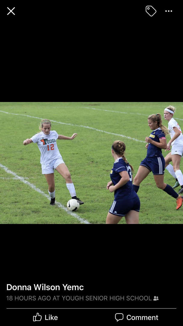Natalie Vilchek - All Section Girls Soccer