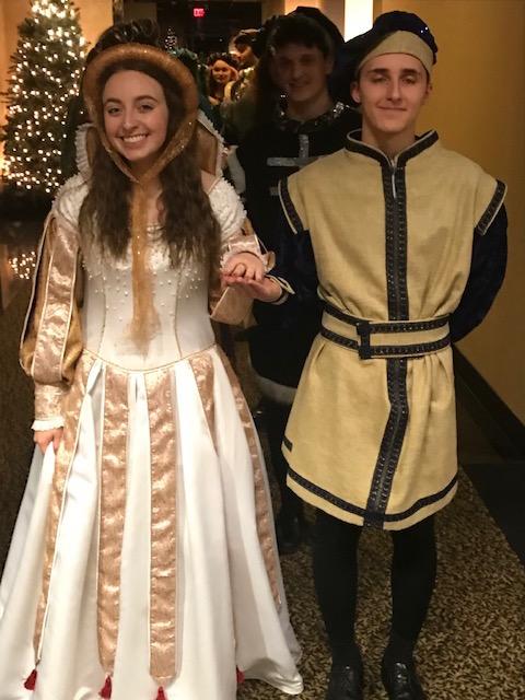 Madrigal Dinner  Shaina and Brandon  12/11/19