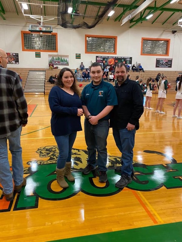 Bowling - Congratulations Anthony!!!! Senior Night