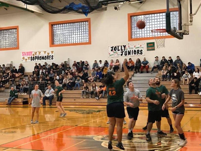 Staff vs. Students Basketball Game  11/27/19