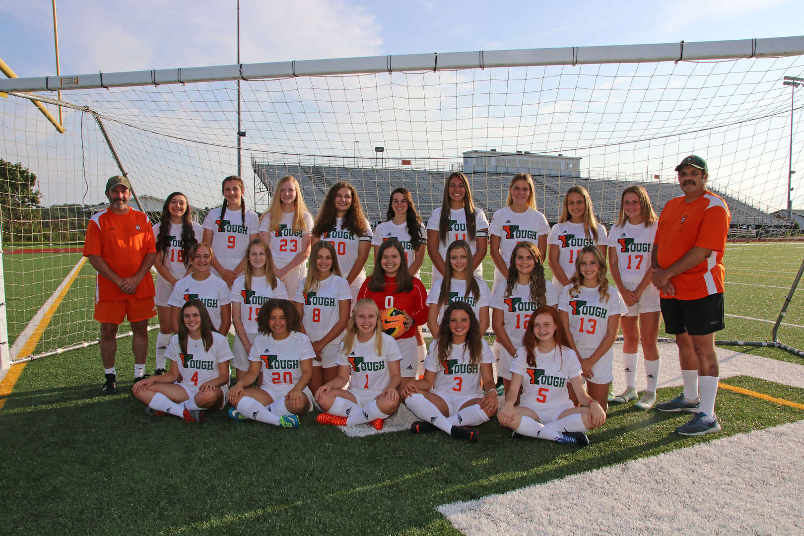 2018 Girls Varsity Soccer Team