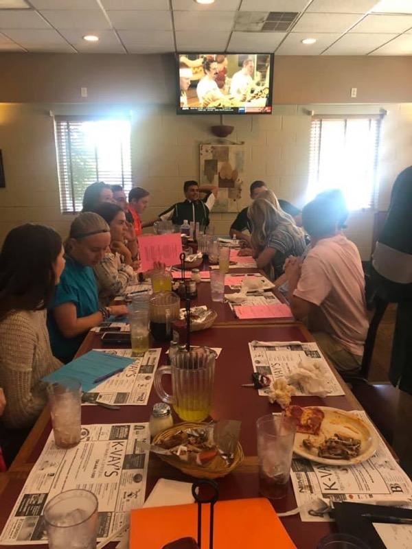 2019 Fall Leadership Team Meeting/Luncheon  Friday, September 27th @K-Vays