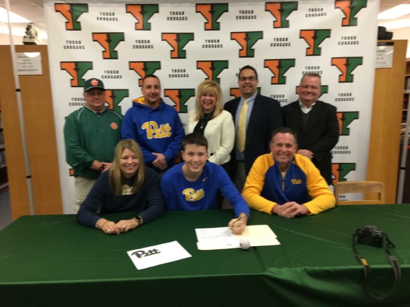 Jarett signing to go to the University of Pittsburgh