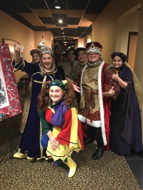 Madrigal Dinner Cast   12/11/19
