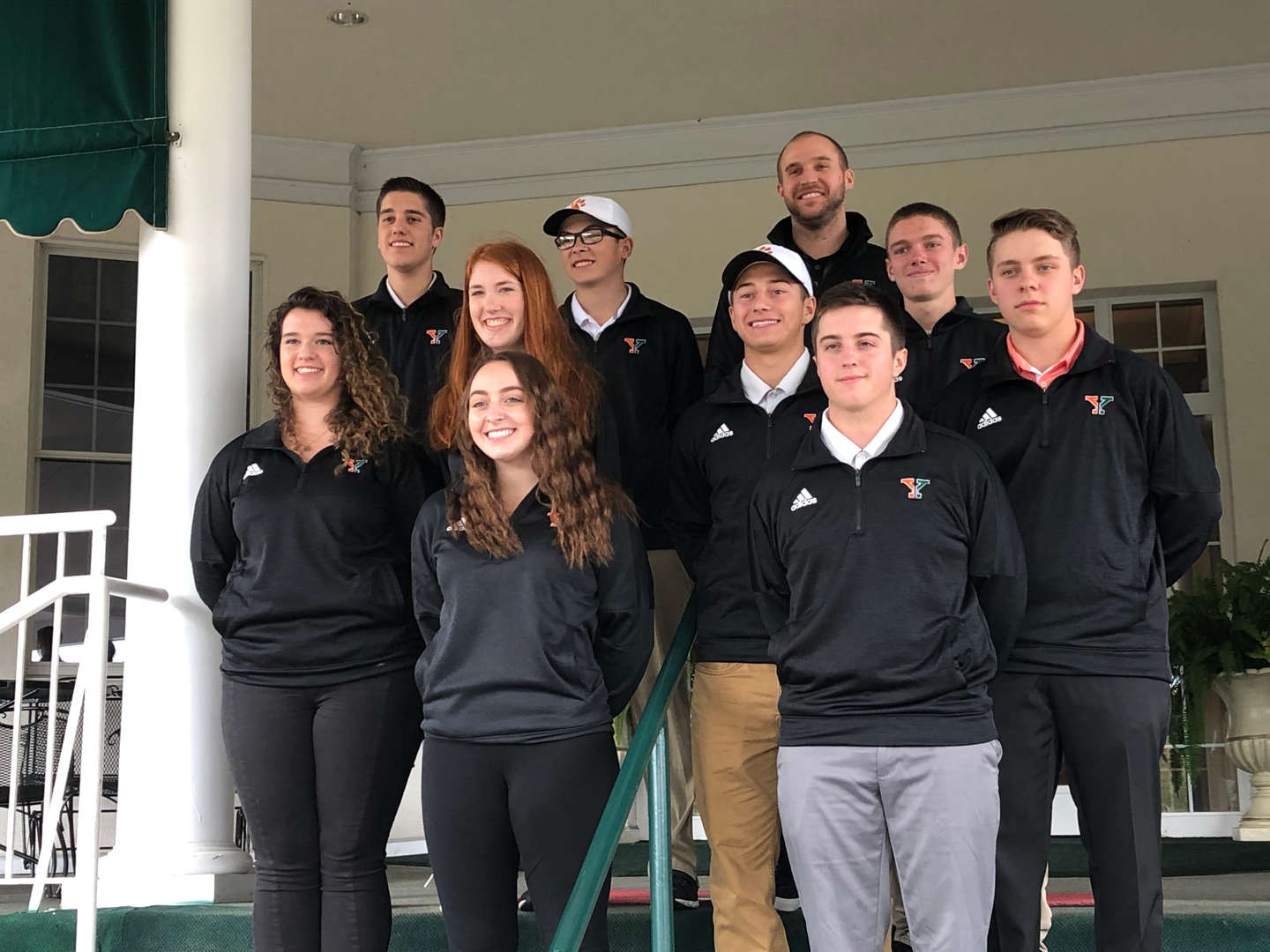 Golf Team at their end of the year banquet @Greensburg Country Club