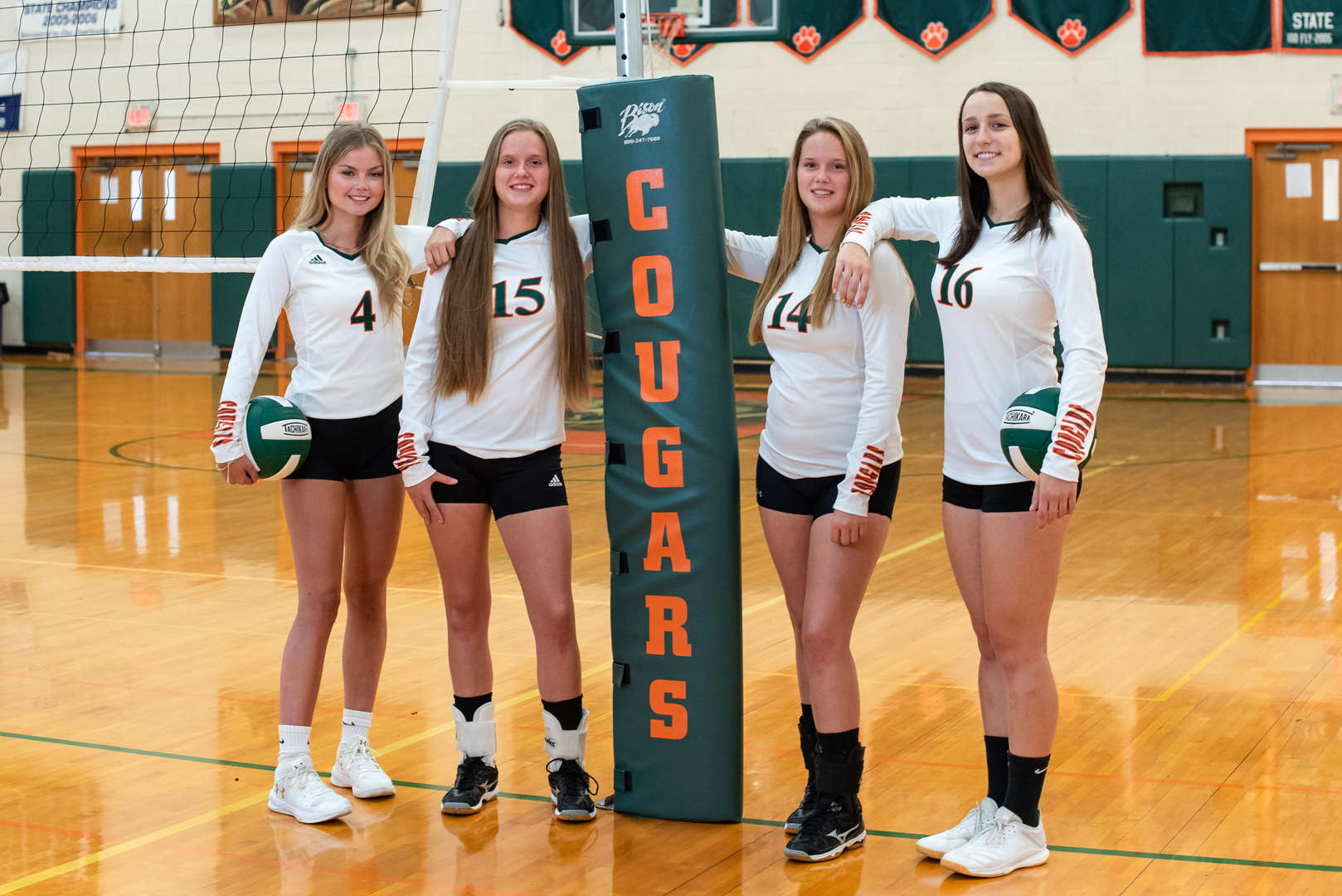 Girls Volleyball Seniors