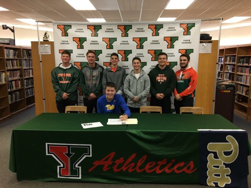 Congratulations Jarett, he signed a Letter of Intent to go to school and play Baseball at the University of Pittsburgh.