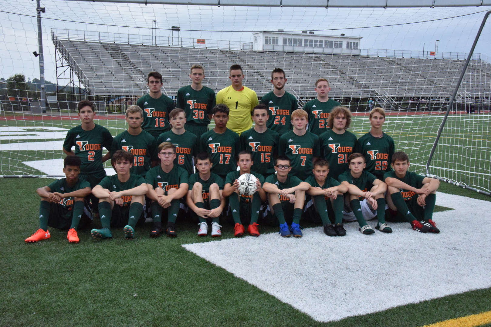 2019 Boys Soccer Team
