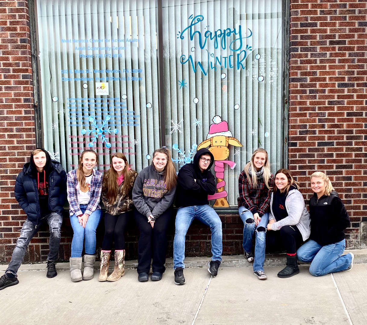 Art Students - Murals/West Newton  12/5/19