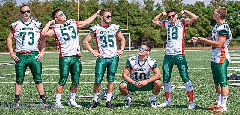 2018 Football Brayden, George, Jake, Dustin, Mason, Cameron