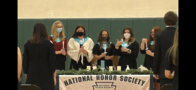 NHS Induction Ceremony  Wednesday, March 24th, 2021