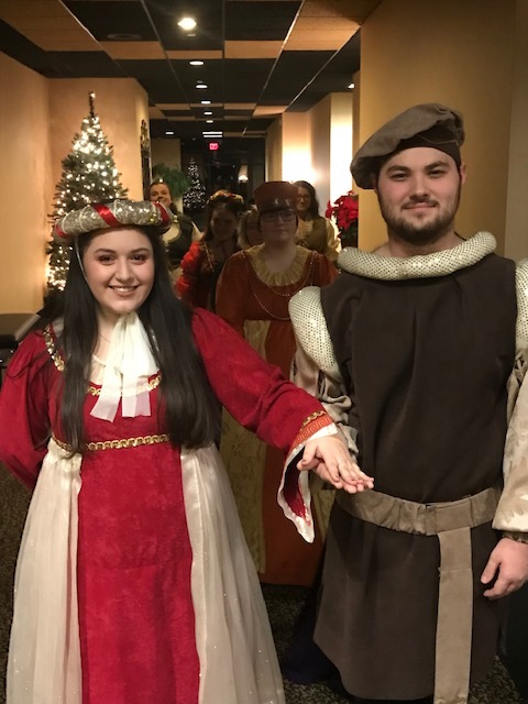 Madrigal Dinner  Gina and Tylor  12/11/19
