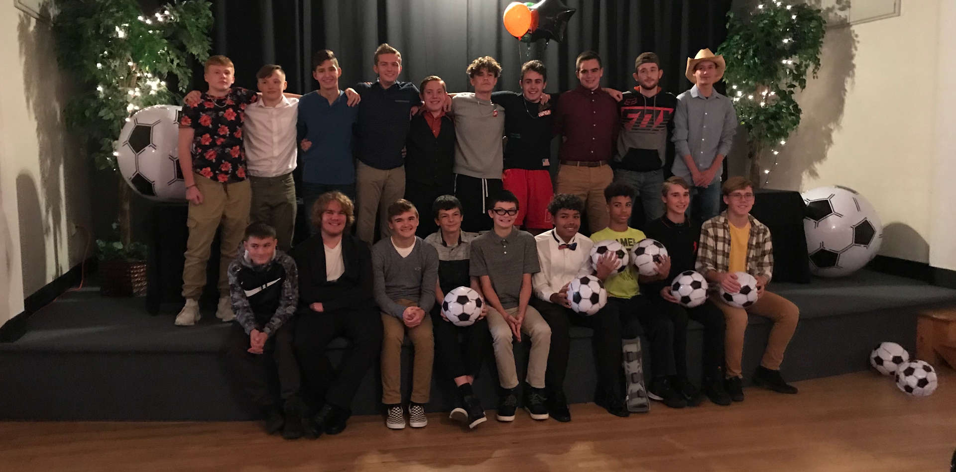Boys Soccer Banquet  2019