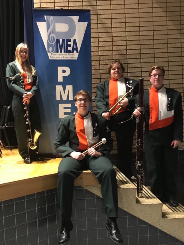 PMEA Students who attended.